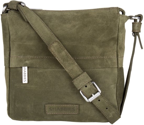 Crossbody Groen Shabbies Crossbodytassen Small Suede xQrCBodeW