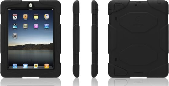 Griffin Survivor voor iPad 2, 3 & 4 - zwart