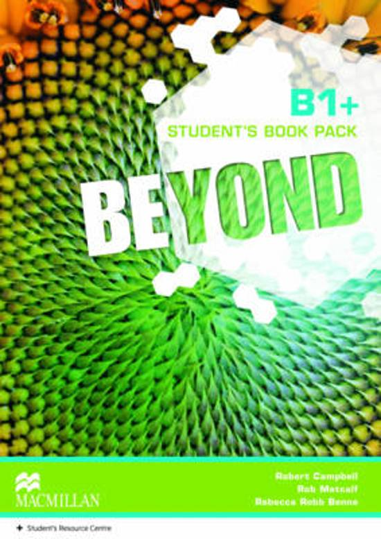 Beyond B1+ Student's Book Pack