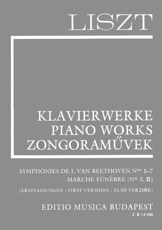 Symphonies de Beethoven No. 3,5,6,7