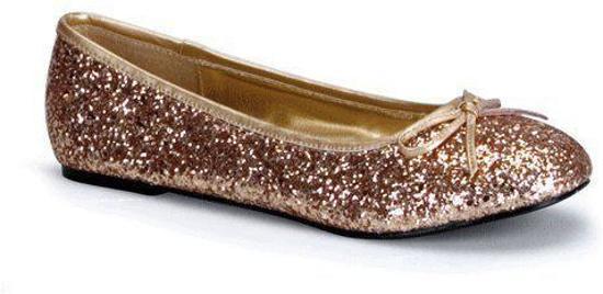 Partie Chaussures De Ballerine Femmes D'or / Brilles tbuRmkjkq
