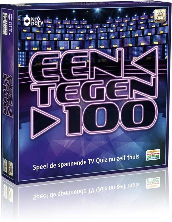 Afbeelding van het spel Een Tegen 100 - Gezelschapsspel