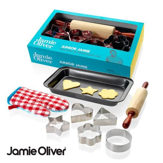 Jamie Oliver bak set Valentinaa