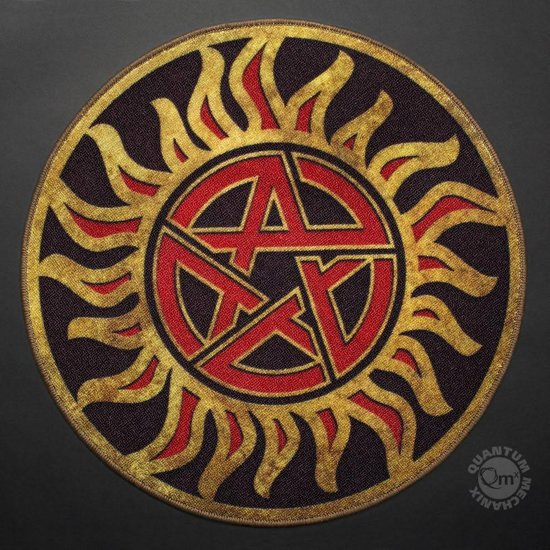 Bol Supernatural Anti Possession Symbol Doormat