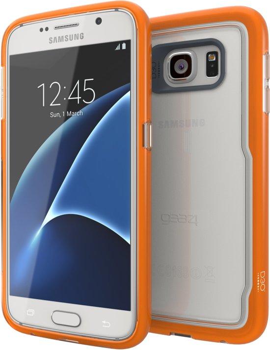 the best attitude 67619 f72ee GEAR4 Black IceBox Shock Case - Samsung Galaxy S7 Hoesje - Oranje