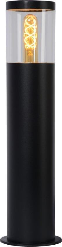 Lucide FEDOR - Sokkellamp Buiten - E27 - IP44 - Zwart