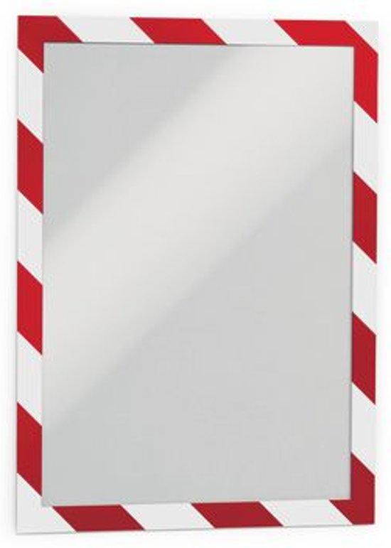 Durable Duraframe Security formaat A4 rood/wit pak van 2