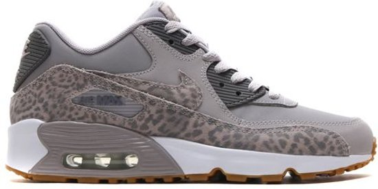ae6bebb909d Nike Air Max 90 Leather Sneaker Junior Sneakers - Maat 38 - Unisex - grijs