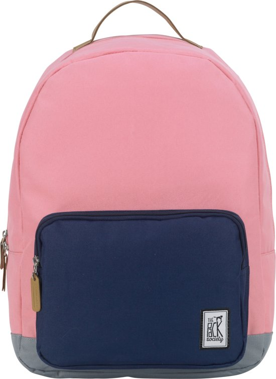 9632acdac04 bol.com   The Pack Society D-Pack Rugzak - Roze & Blauw