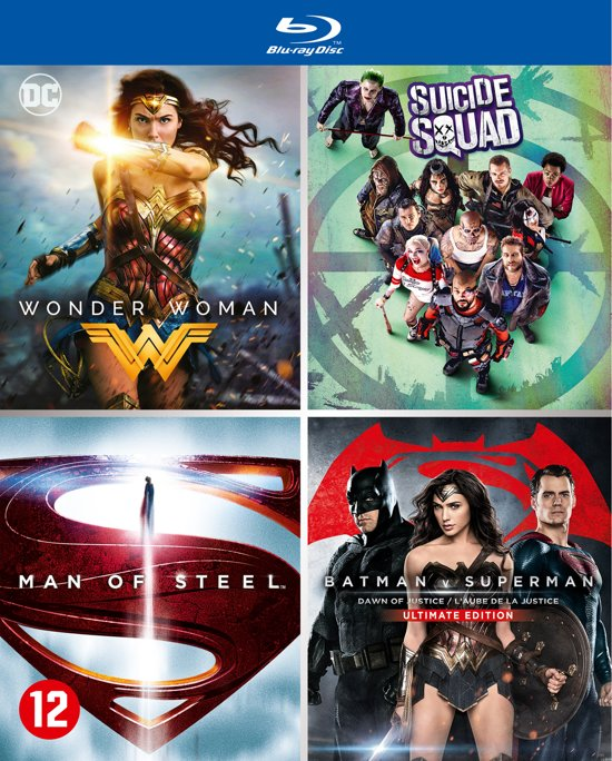 DC Comics Movie Collection (Blu-ray) (2017)