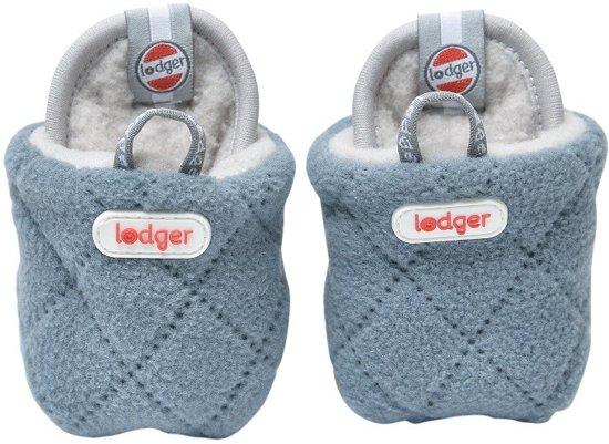 Lodger Babyslofjes - Slipper Scandinavian  - Blauw - 3-6 mnd