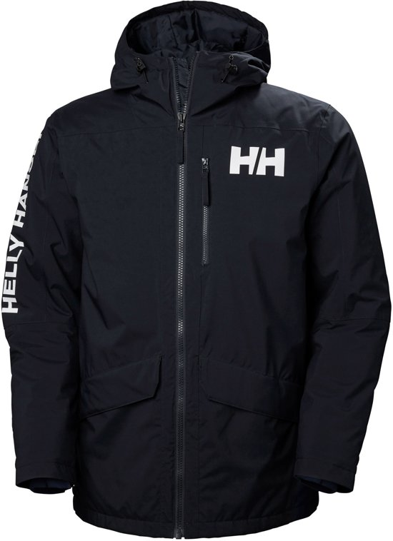Helly Hansen Active Fall 2 Parka  Jas - Maat M  - Mannen - navy/wit
