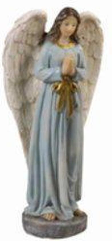 Beeld Engel 20cm gemaakt van polystone Valentinaa