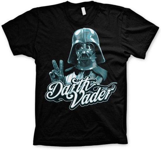STAR WARS - T-Shirt Cool Vader - Black (S)