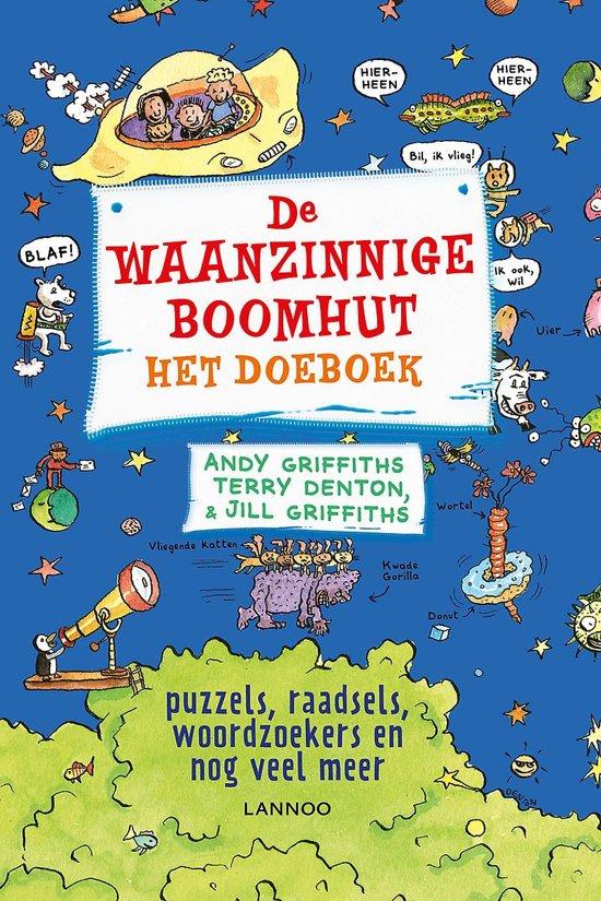Boek cover De waanzinnige boomhut - Het doeboek van Andy Griffiths (Paperback)