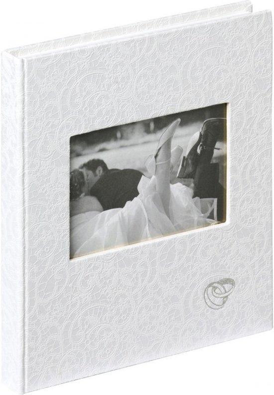 Walther Design GB-107 Music - Gastenboek - 23 x 25 cm - Wit - 144 pagina's Valentinaa