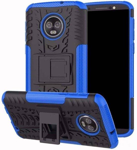 Schokbestendige Back Cover - Motorola Moto G6 - Blauw