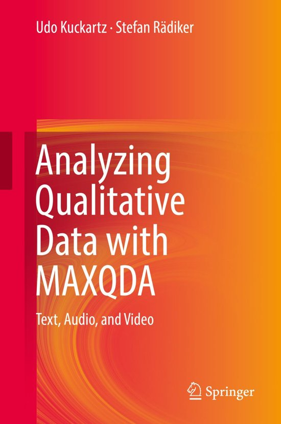 Analyzing Qualitative Data with MAXQDA