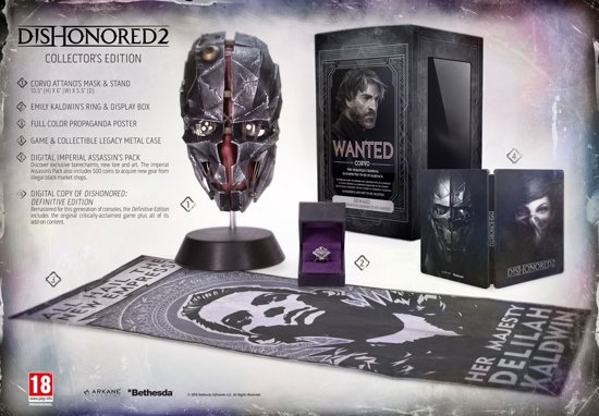 Dishonored 2 - Collector's Edition - PS4 kopen