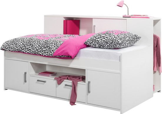 bol true furniture celo bed met ombouw wit