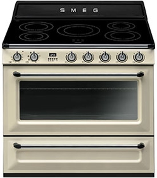 smeg tr90ip fornuis inductie kookplaat elektrisch oven tr 90 tr90 tr 90 ip. Black Bedroom Furniture Sets. Home Design Ideas
