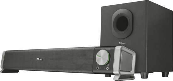 Trust Asto 2.1 - Soundbar PC-Speaker met Subwoofer