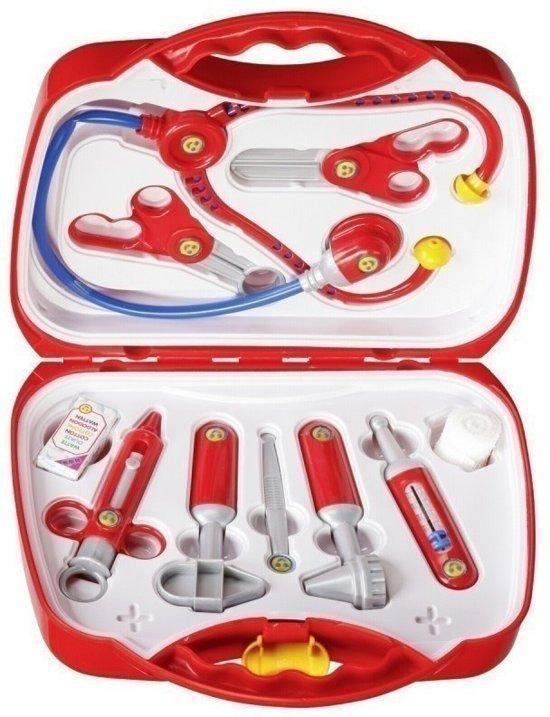 bol dokterskoffer met accessoires theo klein speelgoed
