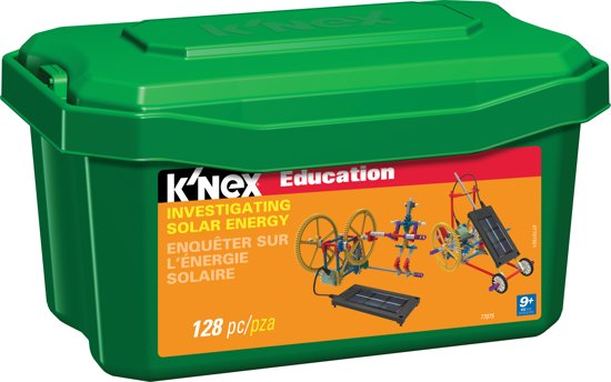 K'NEX Education Investigating Solar Energy - Bouwset