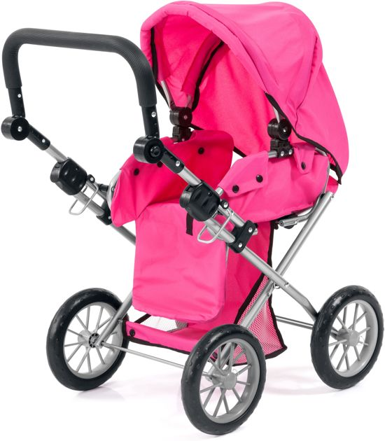 Bayer Poppenwagen Bayer City Star: roze