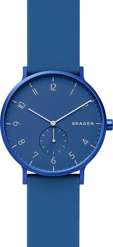 Skagen Aaren Kulor Horloge 41mm - Blauw