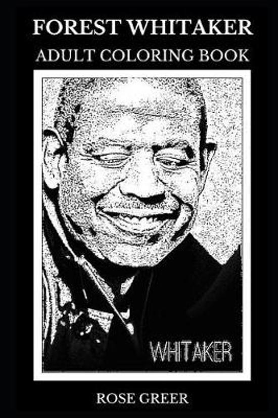 Forest Whitaker Adult Coloring Book