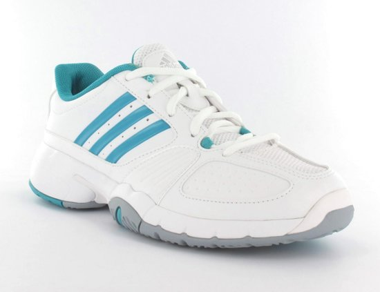 adidas Bercuda 2.0 W Tennisschoenen Dames Maat 42 WitFluor Geel