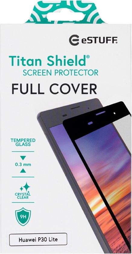 eSTUFF Huawei P30 Lite Full Cover Bla Doorzichtige schermbeschermer Mobiele telefoon/Smartphone 1 stuk(s)