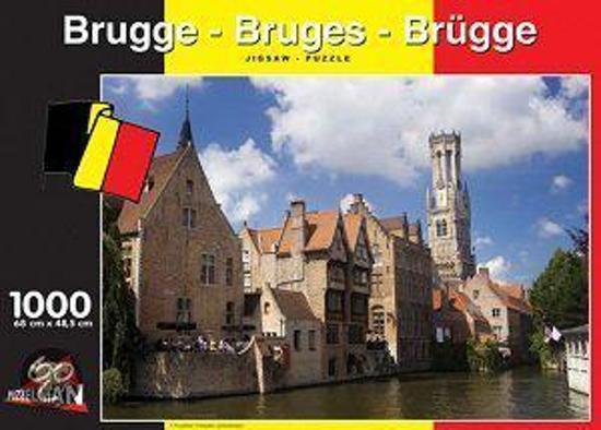 Brugge - Legpuzzel - 1000 Stukjes