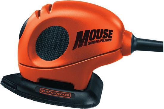 BLACK+DECKER Mouse - Deltaschuurmachine - KA161-QS - 55W - incl. 8 schuurvellen en detailopzetstuk