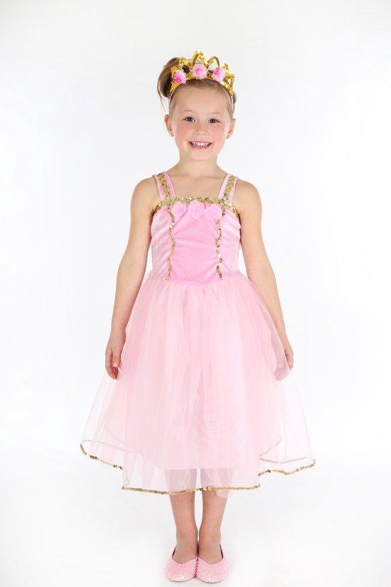 16d57604c97 Droom Prinses Lyanna jurk, roze - maat 3-4 jaar (98/104 cm)