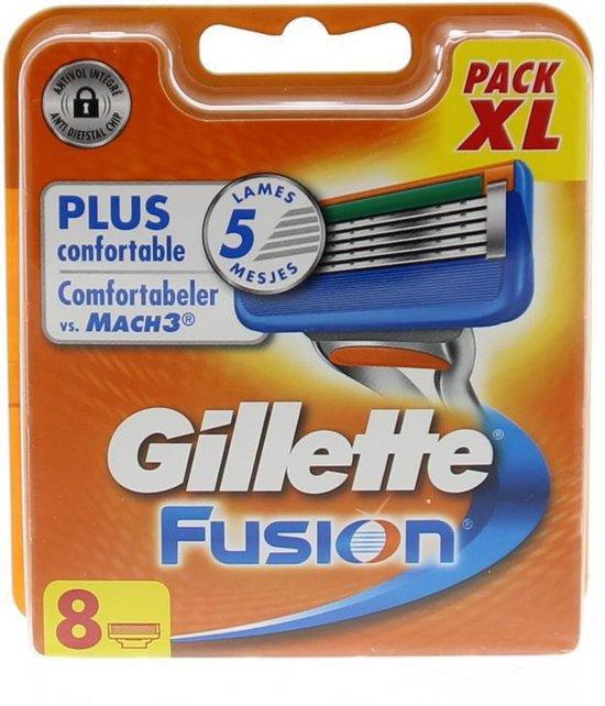 GILLETTE FUSION 8 stuks XL Pack