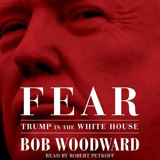 Boek cover Fear van Bob Woodward (Onbekend)
