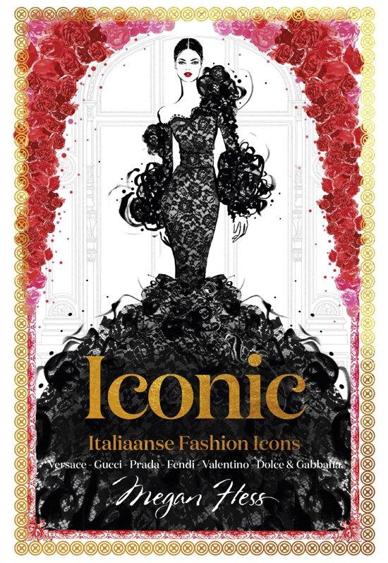 Boek cover ICONIC van Megan Hess (Hardcover)