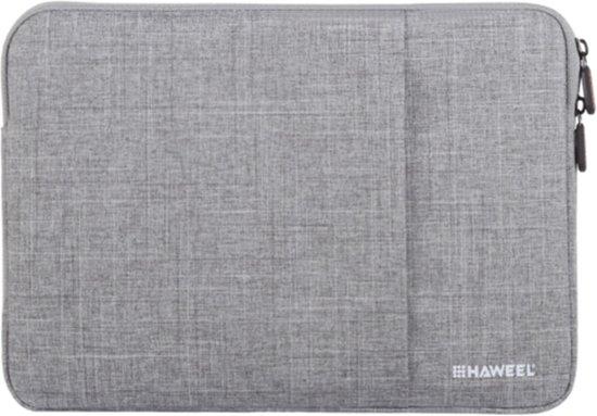 6c1a9dc4b99 bol.com | Haweel - 13 inch Laptop Sleeve - Oxford Grijs
