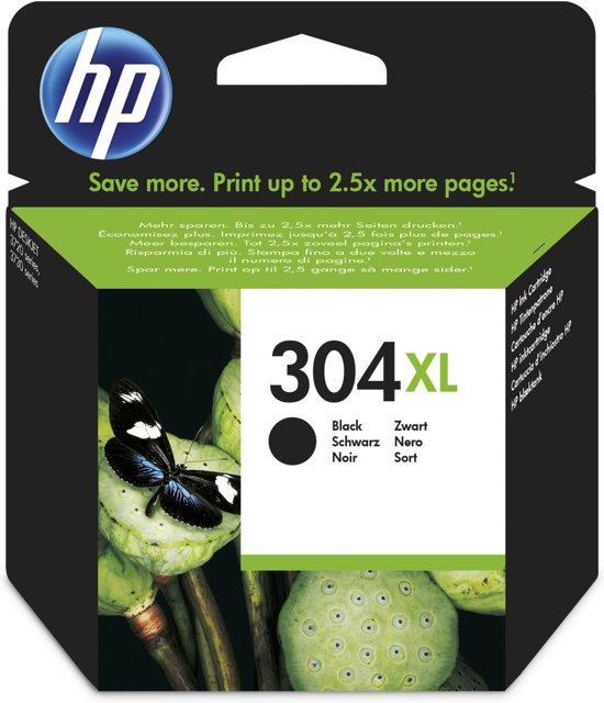 HP 304XL - Inktcartridge / Zwart / Hoge capaciteit