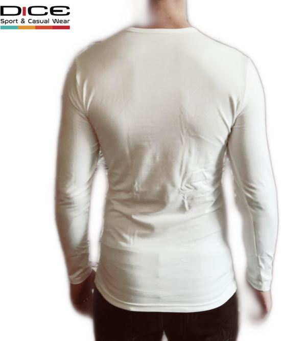 2 V pack Dice Wit hals Longsleeve 3xl Maat Shirts qd1xwxRznU