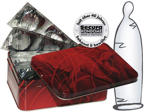 Transparante condooms