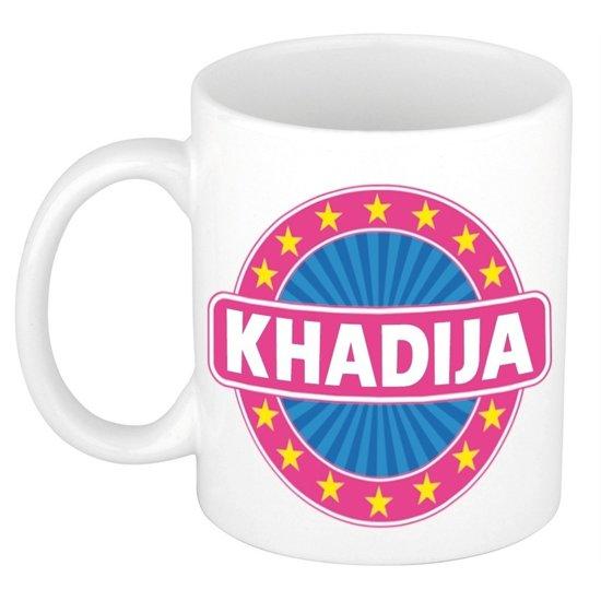 Khadija naam koffie mok / beker 300 ml  - namen mokken