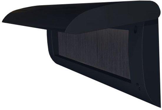 Door-Line basic binnenbriefplaat kunststof zwart