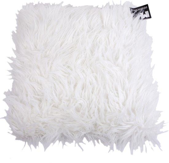 In The Mood Bont Sheep - Sierkussen - 45x45 cm - Ecru