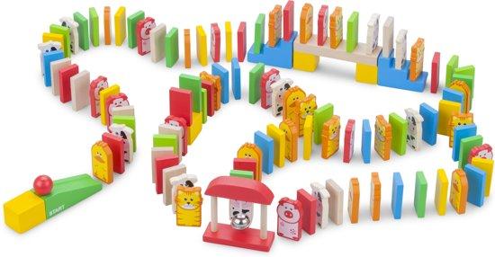 Afbeelding van het spel New Classic Toys - Domino Set - 110 stuks