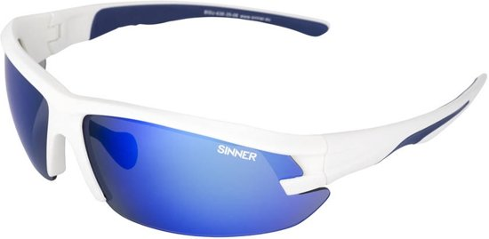 SINNER Speed - Sportbril - Wit/Blauw