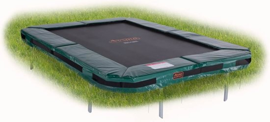 Avyna PRO-LINE InGround trampoline 203 (215x155) Groen