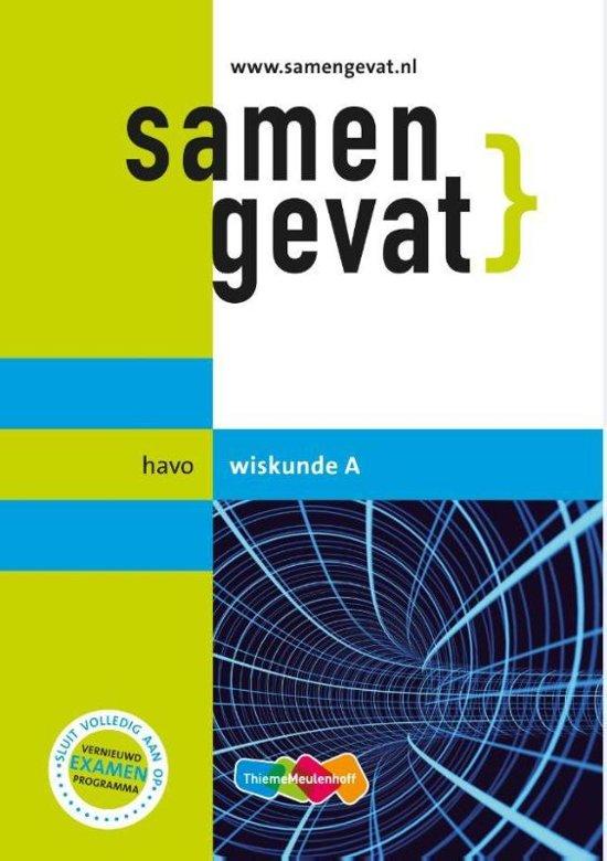 Boek cover Samengevat havo Wiskunde A van F.C. Luijbe (Paperback)